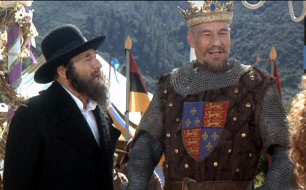 mel brooks sir patrick stewart robin hood men in tights rabbi king richard wedding scene