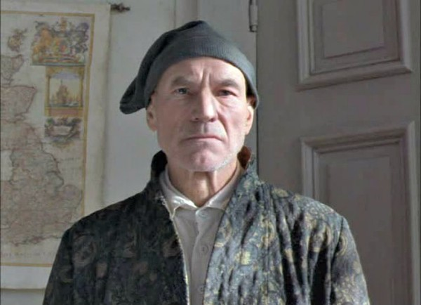 sir patrick stewart as scrooge charles dickens a christmas carol hallmark films